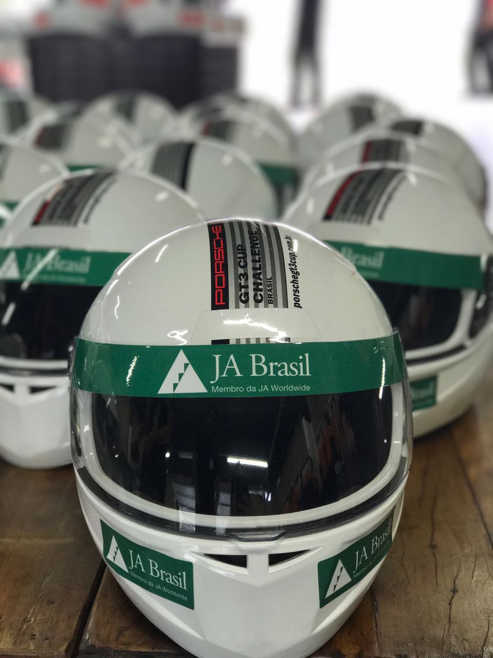 JA Brazil held a fundraising activity during the Porsche GT3 Cup -