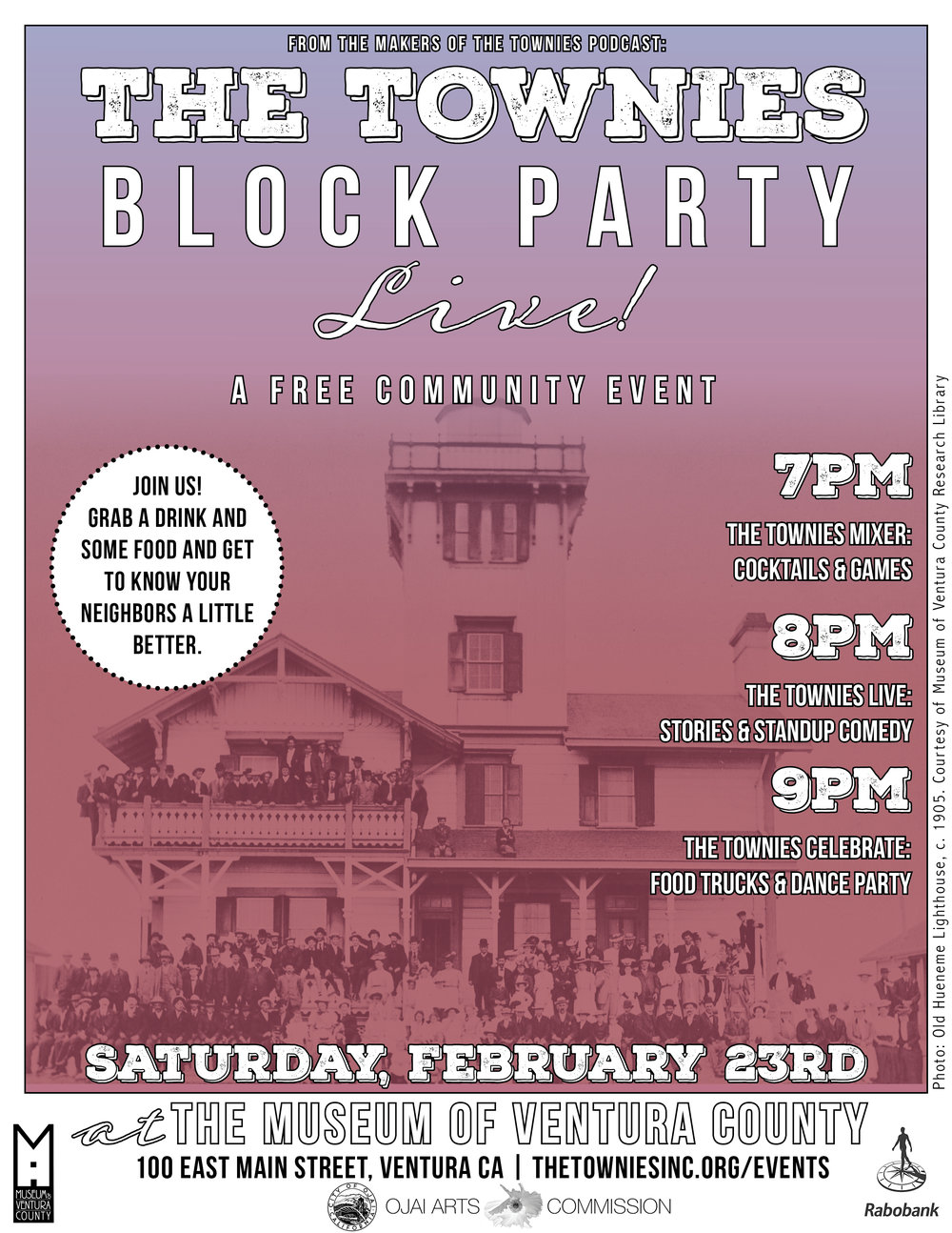 The Townies Podcast Block Party 2019
