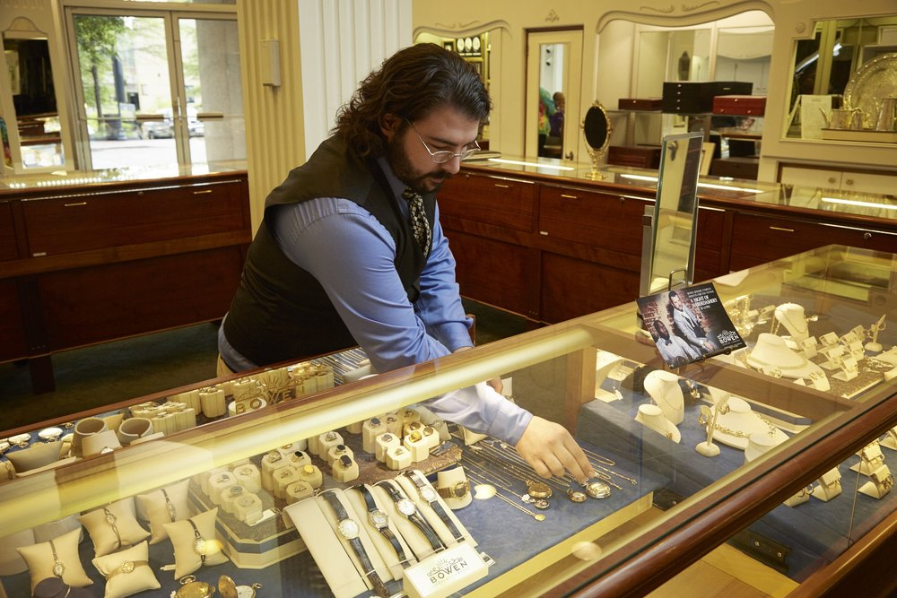 Jared Robbins Bowen Jewelry Company Lynchburg VA