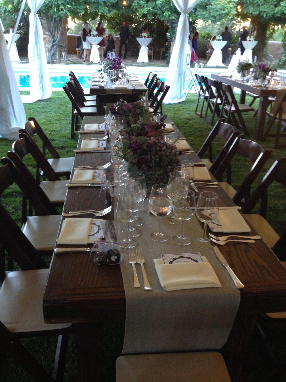 Benjamin/Nazari wedding - Rentals from Classic Party Rentals