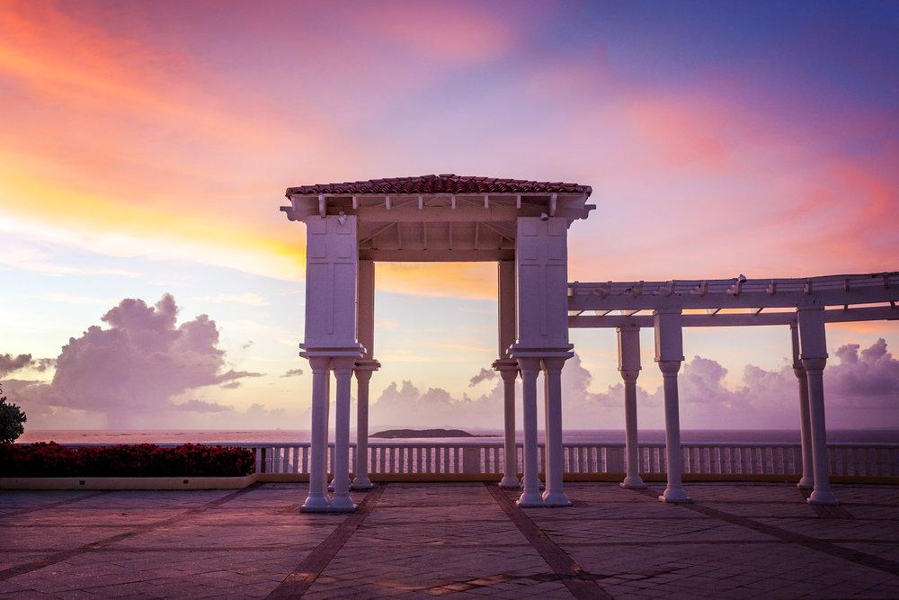 Sunrise in the Caribbean