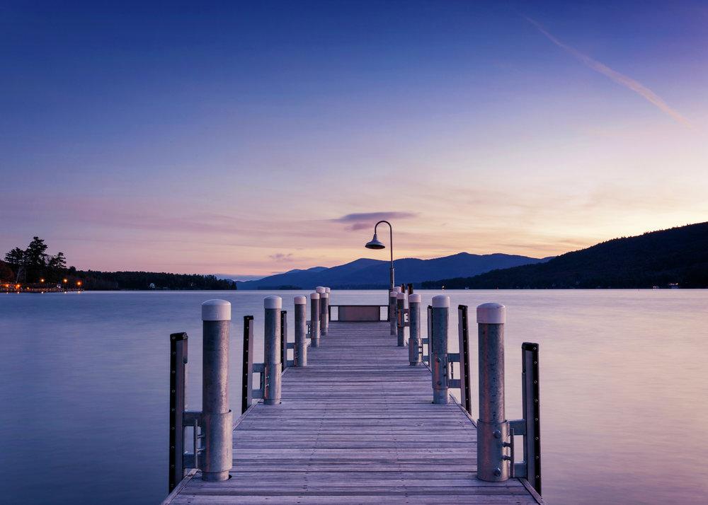 Sunrise at Lake George, NY