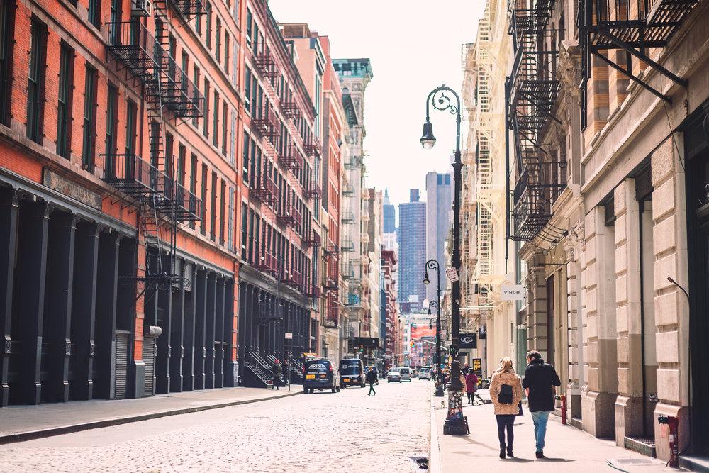Streets of Soho, NYC