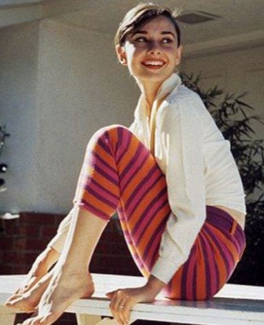 Audrey Hepburn, who was known for her natural beauty routines.