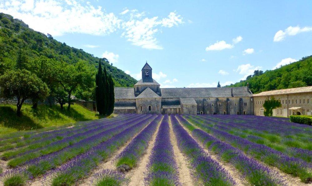 L'Abbaye Notre Dame de Sénanque Gordes