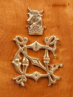 bull insignia family crest.JPG