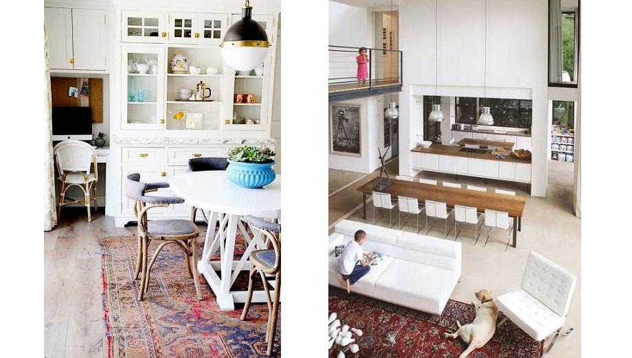 traditional rug modern room.JPG