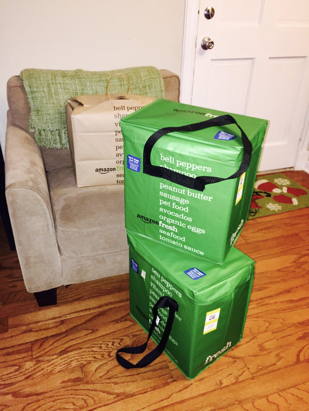 Amazon Fresh delivery!