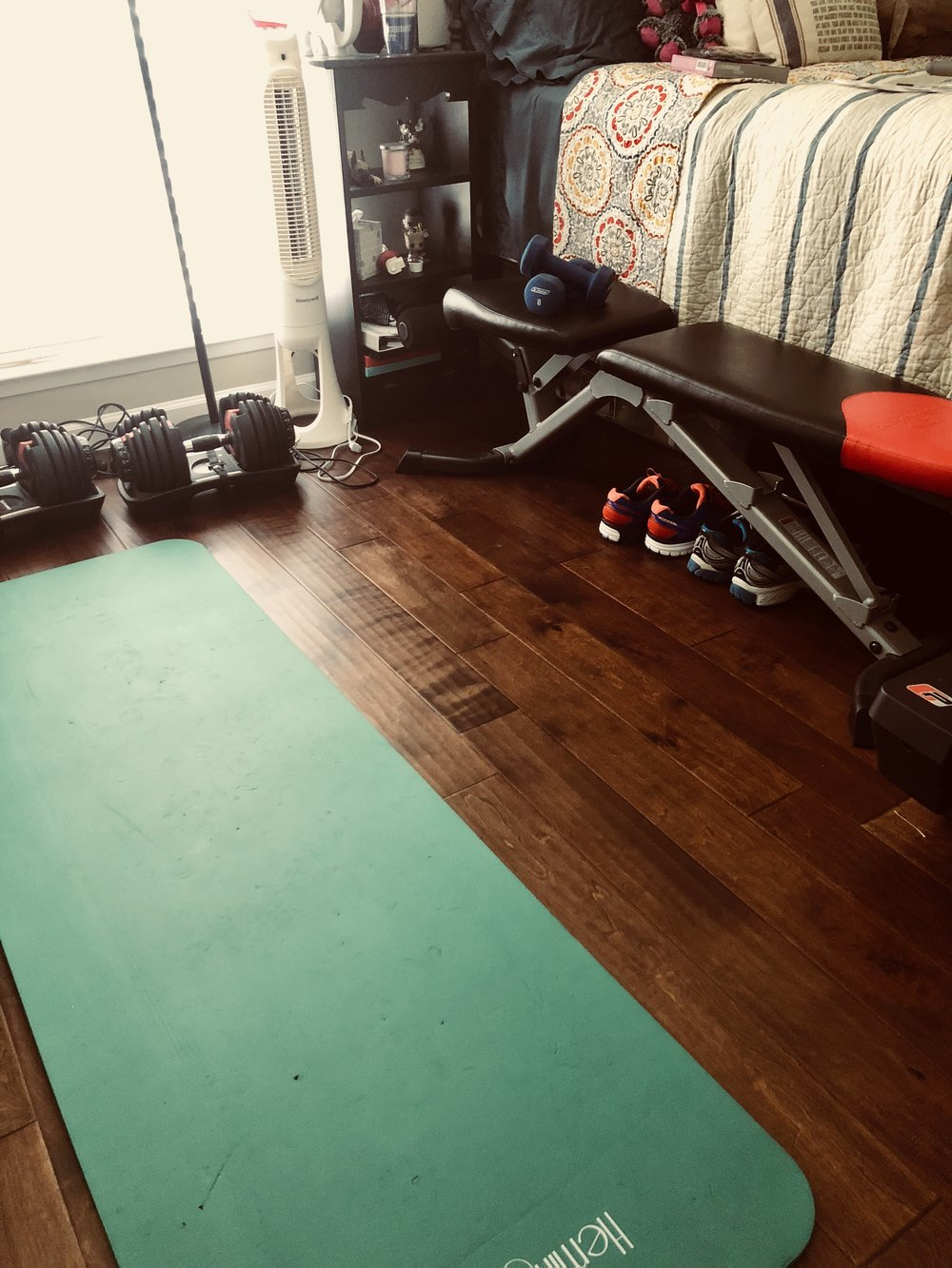 Our workout/guest room! All the space you need!