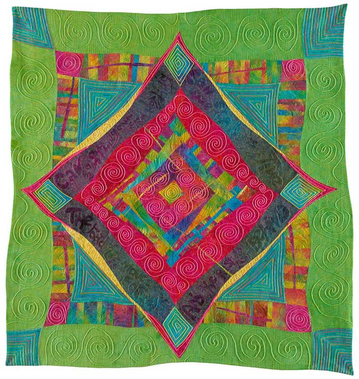 Quilting Caveman Style