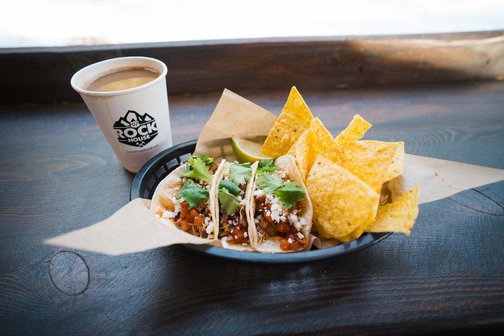 - Taco Tuesday! $5 dollar tacos every Tuesday
