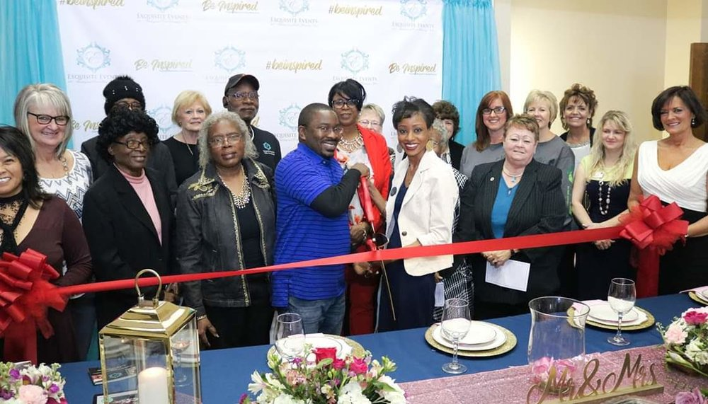 Ribbon Cutting Ceremony - We are officially official,lol!