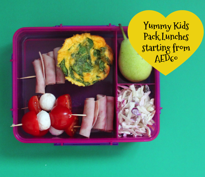 kids pack lunch subscription