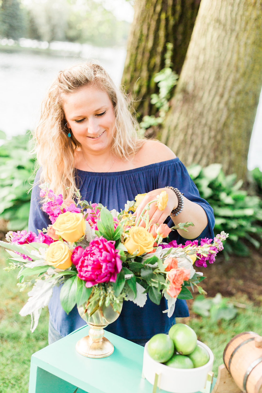 Wedding Floral Designer.  Photographer:  Cynthia Boyle