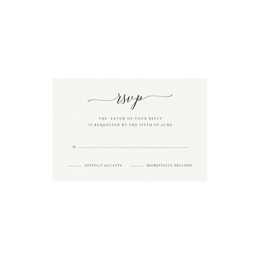 Wonderful Rsvp Card Template Pictures Inspiration Example Resume - Rsvp card template