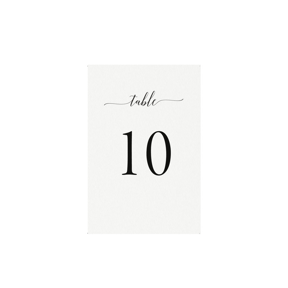 Adel Printable Wedding Table Numbers Template Simply Suite - Table number template