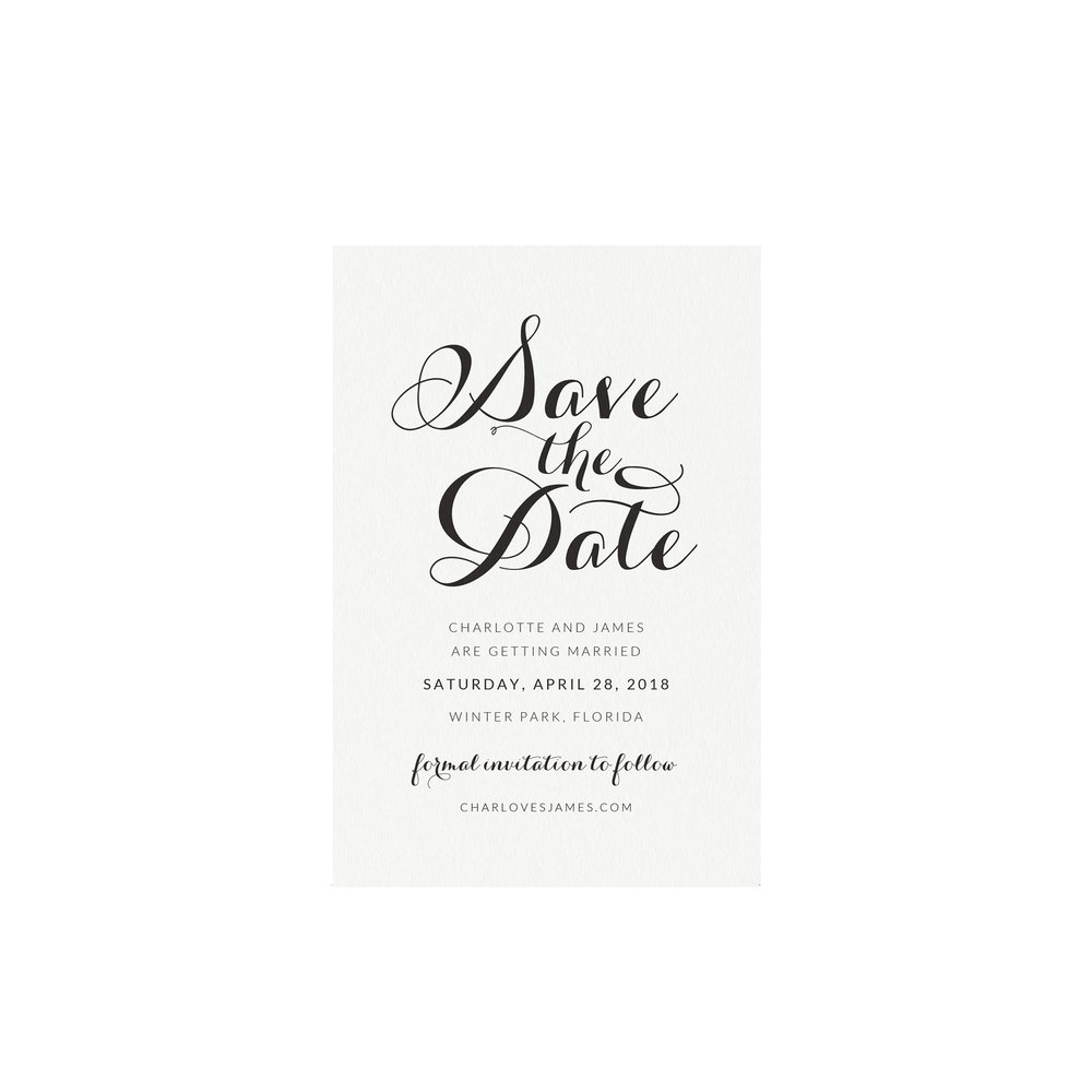 carlyn printable wedding save the date template simply suite