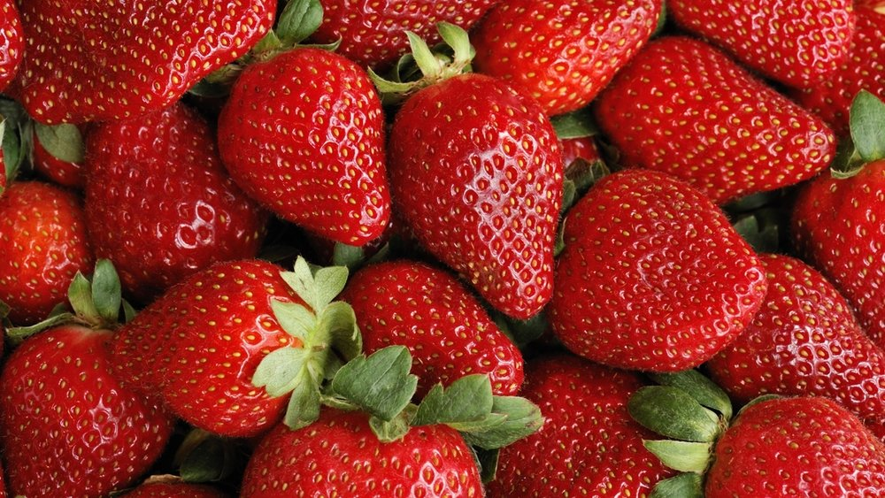 Organic Strawberries -