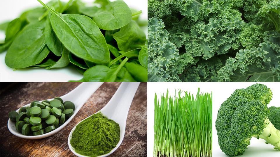 Organic Greens Blend - wheatgrassbarleygrassspirulinachlorellakalespinachbroccoli