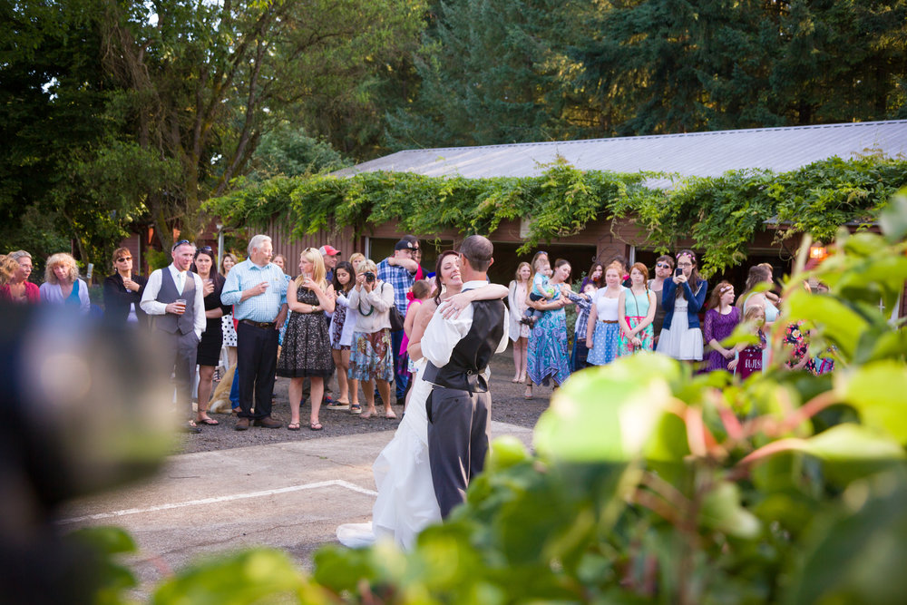 Oregon Wine Country Wedding
