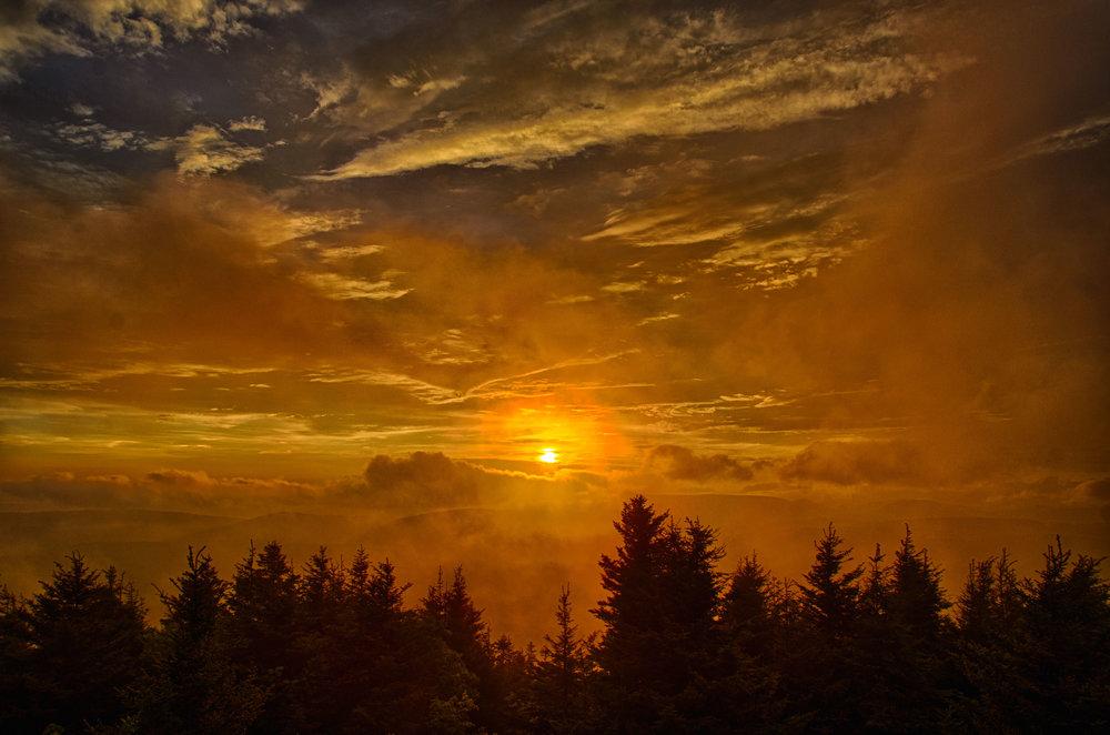 Spruce Knob Sunset