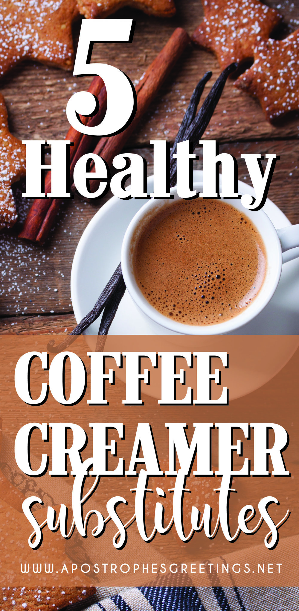 5 coffee creamer substitutes that are healthy