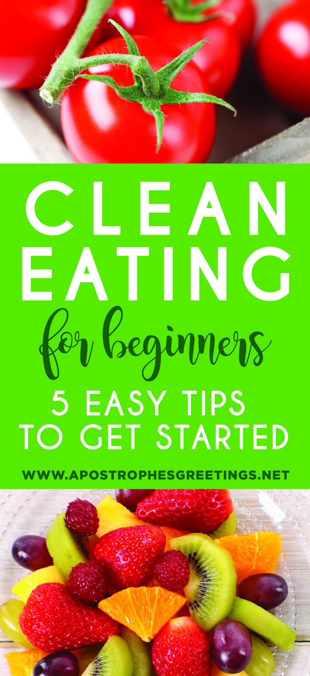 Clean Eating for beginners, 5 tips to start