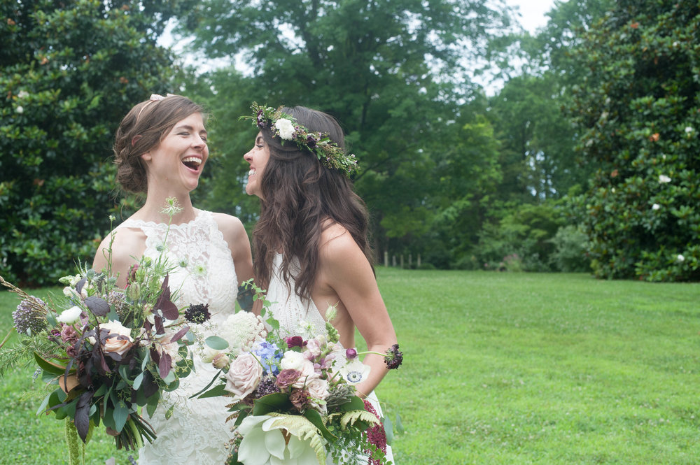 Winifred + Nicole by Maggie Sottero (Britt Johnson Photography)