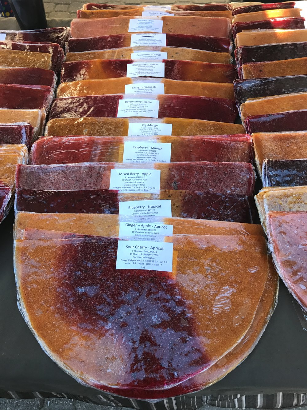 Humongous fruit leather