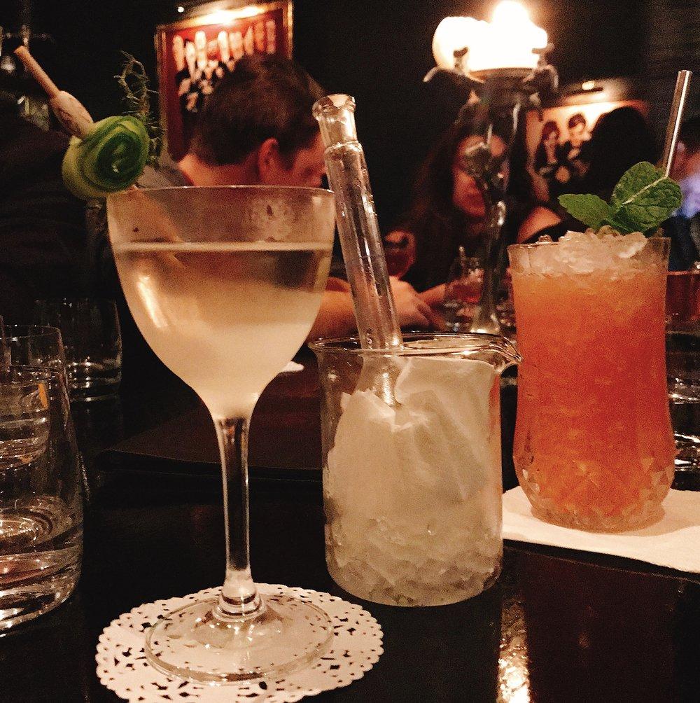 A vodka take on Essence #2 & caprisun-like mocktail with mint