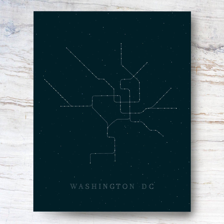 Dc Metro Constellation Danielle Stratford Art