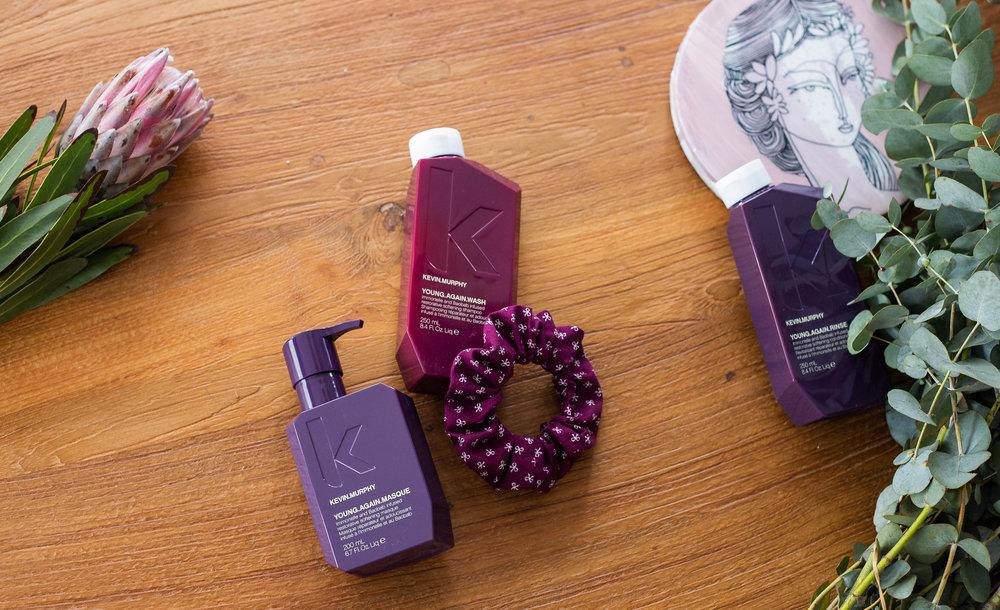 Kevin Murphy for Moosh Hair Studio - Flat Lay Styling & Photography by Tanika Blair - dark purple 2 - landscape.jpg