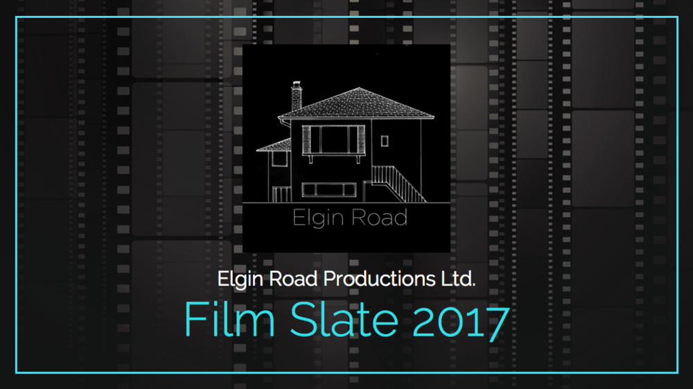 Film Slate for Elgin Road Productions