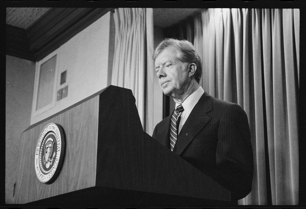 """Together, we will meet these threats to peace"" -Jimmy Carter"