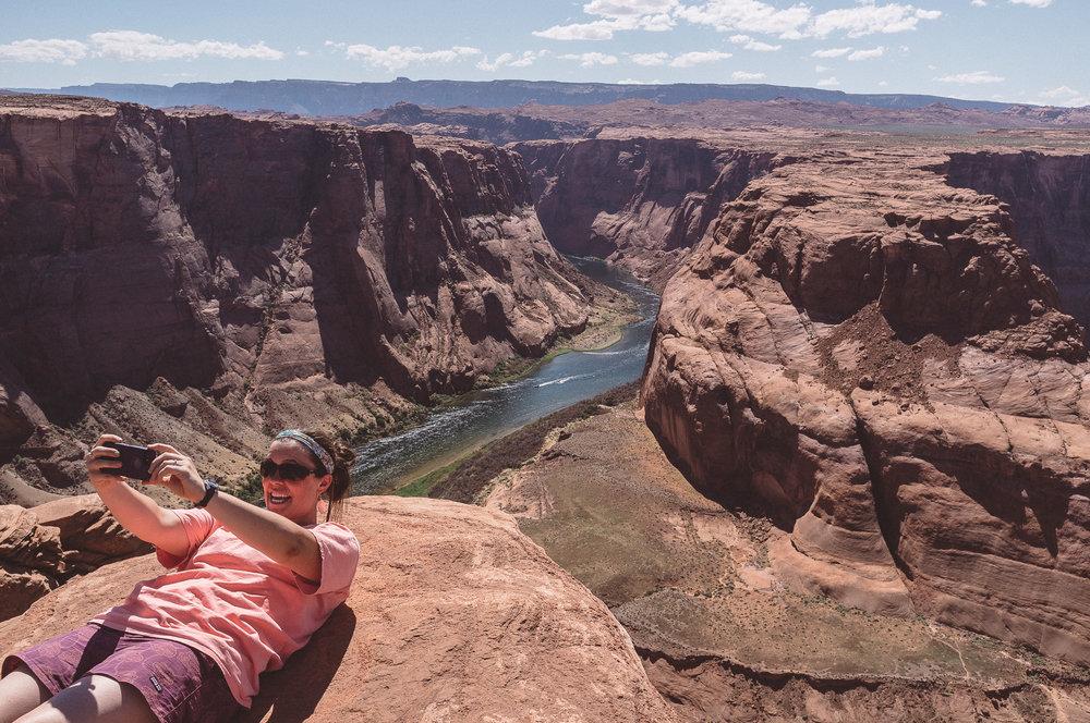 thomas wywrot photography photographer travel camping road trip camera vsco portra fuji fujifilm x100 horseshoe bend arizona