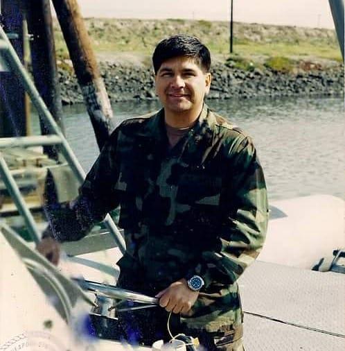 """Ruben """"Chato"""" Hinojosa, US Navy    May 18th, 2018"""