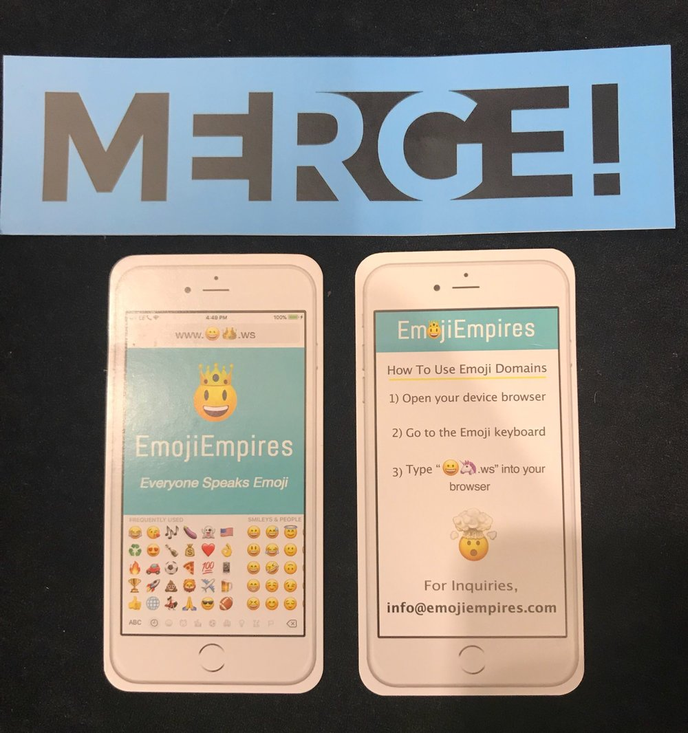 EmojiEmpires' marketing materials which were a huge hit!