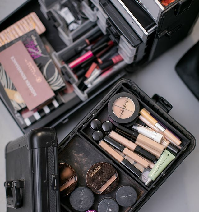 Typical day in the studio! We love what we do . . . . . . . . . #liveyourdream #dream #dreamteam #smhair #smmakeup #smhairandmakeup #hairstylist #makeupartist #makeupkit #vanity #vanities #stylist #design #smbrand #smcomapany #tuesday #studio #brand #company