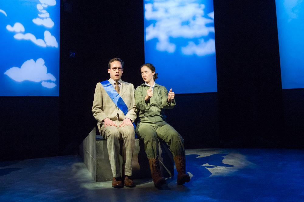 John Russell & Amanda Quaid