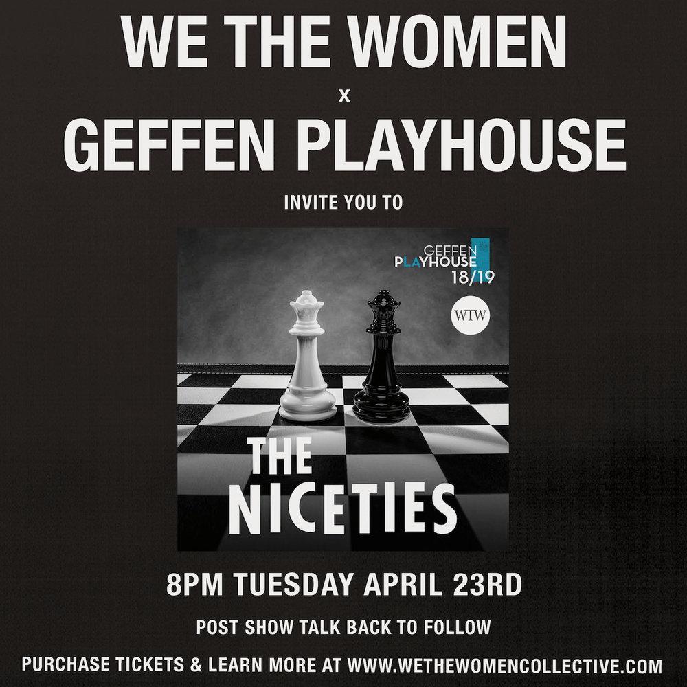 the niceties -