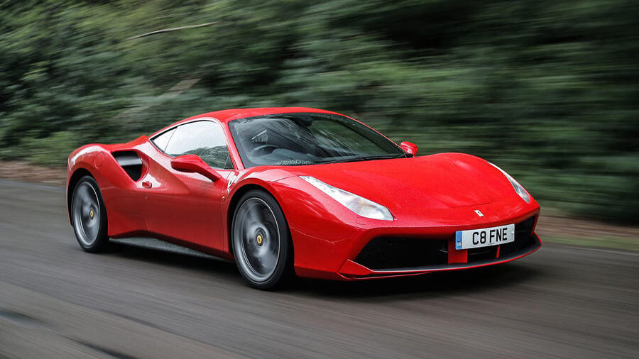 Ferrari 488 GTB. Photo courtesy of autocar.co.uk