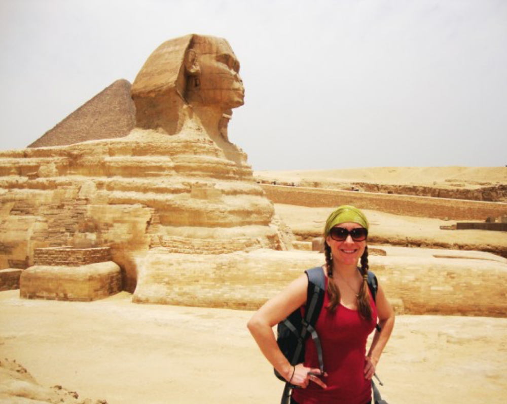 Rumor has it that the nose of the Sphinx was actually chiseled off by a dude way back in 1378 AD because he was jealous that people were leaving offerings in hopes of a good harvest.