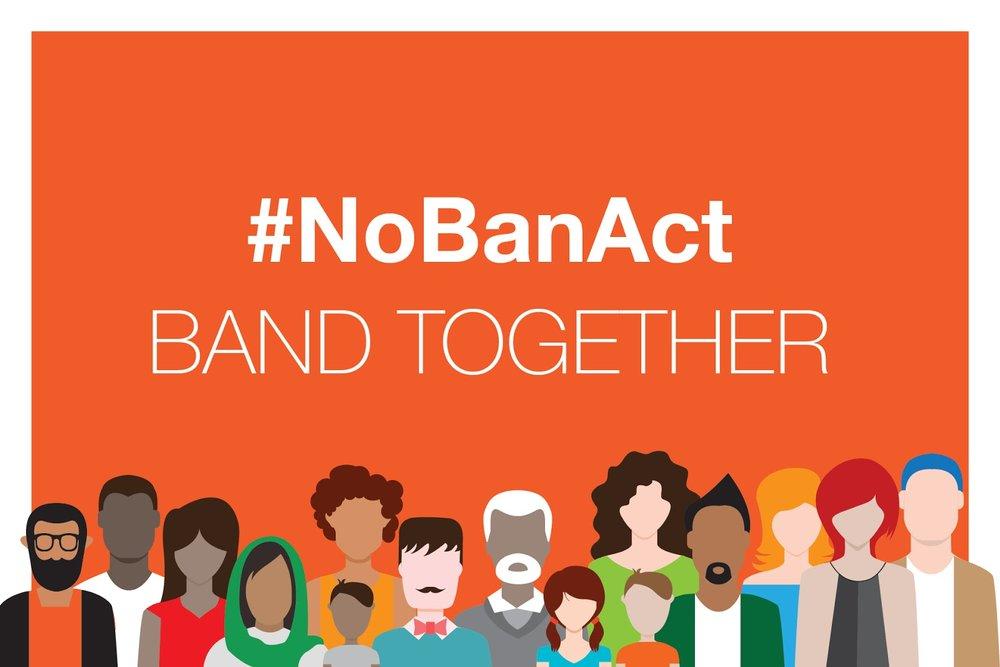 - 384 Organizations Urge Congress to Pass #NoBanAct