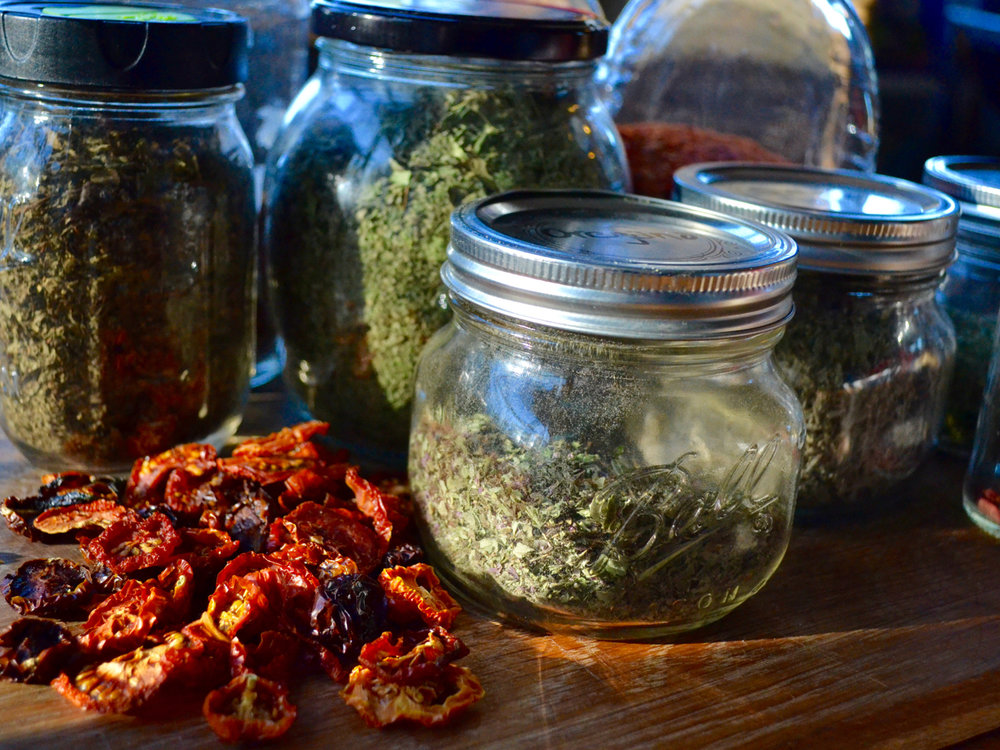 Dried Tomatoes and Herbs