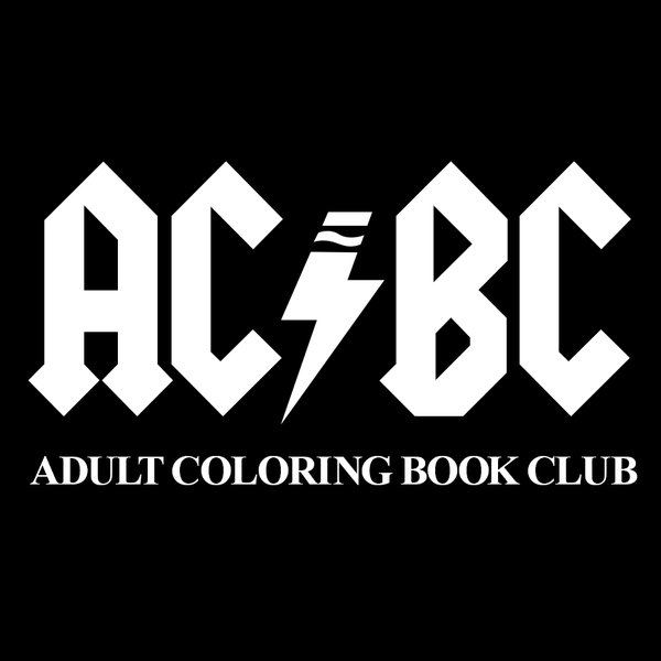 Adult Coloring Book Club Logo