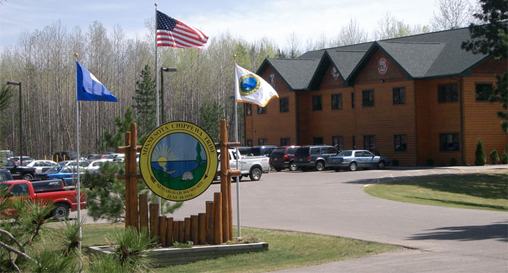 Minnesota Chippewa Tribe Headquarters - 15542 State Hwy 371 NW, Cass Lake, MN 56633(218) 335-8581