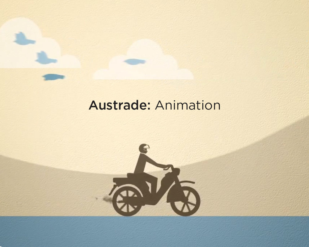 Client Work - Austrade animation