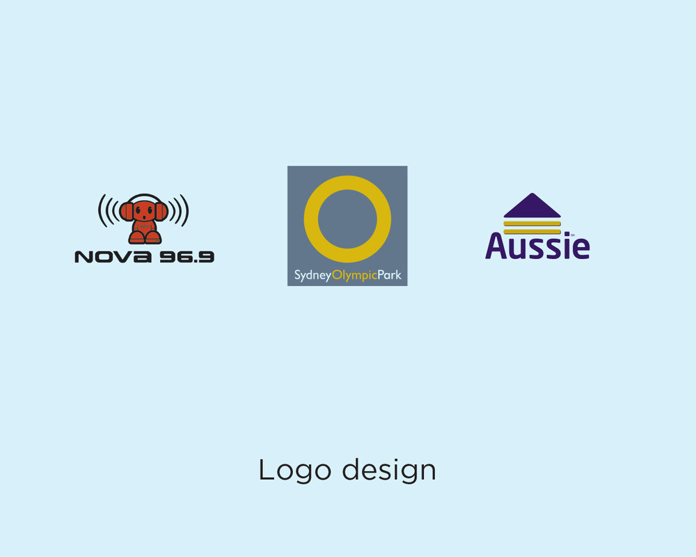 Sample of logo designs by Melhuish & Co.