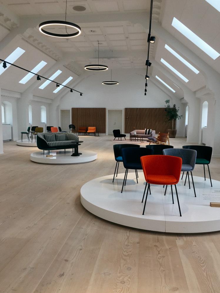 Frederica showroom copenhagen