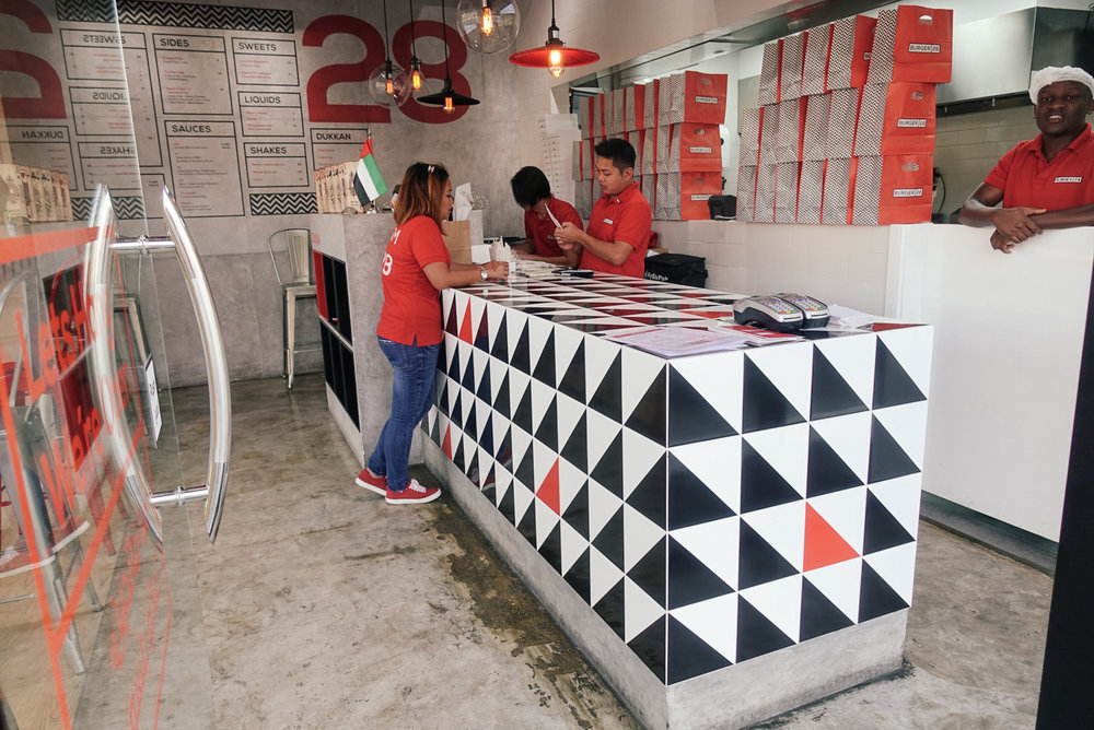 Burger 28 Abu Dhabi staff